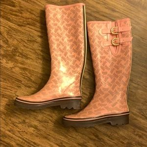 Juicy Couture Shoes - Juicy Couture Rain Boots. Used.
